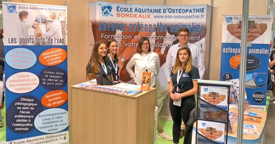 Une Article salons2 - Accueil Ecole Aquitaine Ostéopathie (formation stage ostéopathe Bordeaux Gironde Nouvelle Aquitaine) -  -